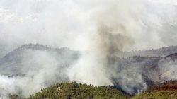 El incendio de Yeste sigue fuera de control y ha quemado ya 2.000