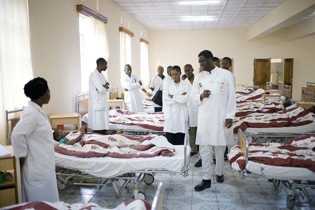 El doctor Mukwege en el Hospital