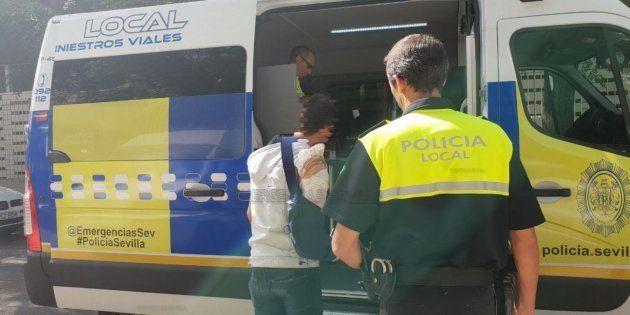 Imagen del detenido, suministrada por Emergencias