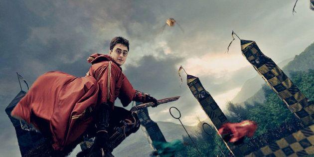 Harry Potter, en un partido de