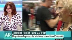 El comentario de Ana Rosa Quintana sobre Carmena en que ha provocado la risa