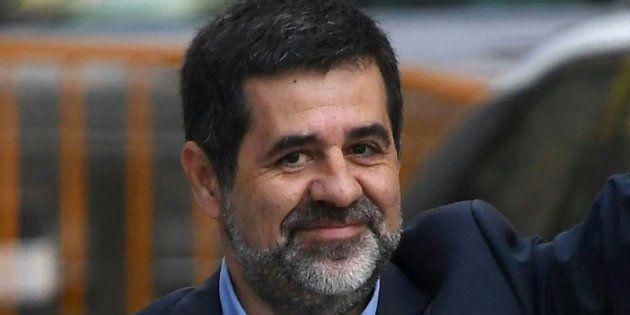 Jordi Sànchez, en octubre de 2017, poco antes de ser