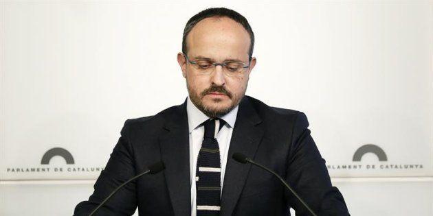 El diputado del PPC, Alejandro Fernández, en una imagen de