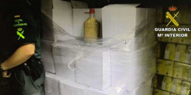 El aplaudido chiste de la Guardia Civil tras decomisar 600 litros de orujo