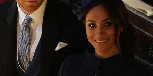 Meghan Markle decepciona con el 'look' que ha llevado a la boda de Eugenia de