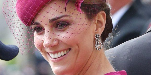 Kate Middleton, en la boda de Eugenia de