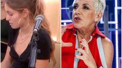 El cabreo de Ana Torroja con esta concursante de 'OT 2018' por cambiar la letra de una canción de