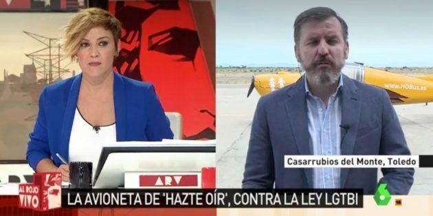 El 'zasca' de Cristina Pardo al presidente de 'Hazte Oír':