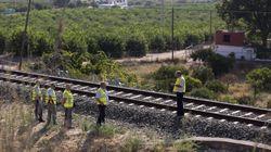 Las cámaras de la estación de tren grabaron a la niña de Málaga andando