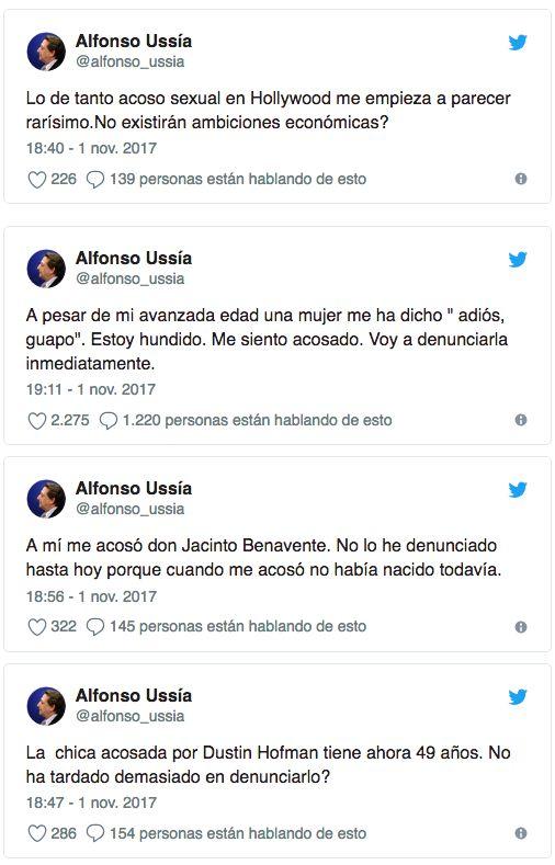 El indignadísimo tuit de Almudena Ariza que muchos aplauden sobre lo que dijo del acoso sexual el recién...