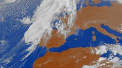 La tormenta Leslie se debilita a su entrada en España y apenas genera