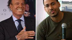 Julio Iglesias y Romeo Santos le cantan una oda al...