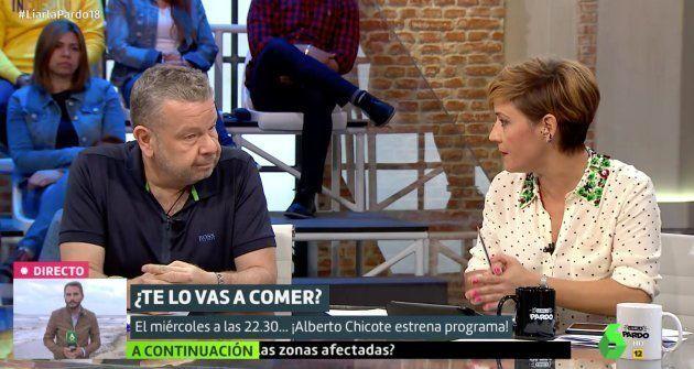 Alberto Chicote y Cristina