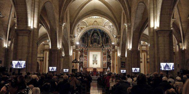 Imagen de archivo de la Catedral de Valencia, donde se llevó a cabo la