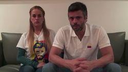Leopoldo López anuncia el embarazo de Lilian Tintori y pide a los venezolanos que