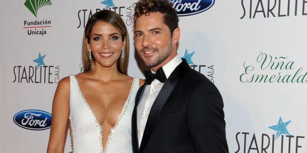 David Bisbal y Rosanna Zanetti, en el Festival Starlite el 11 de agosto de