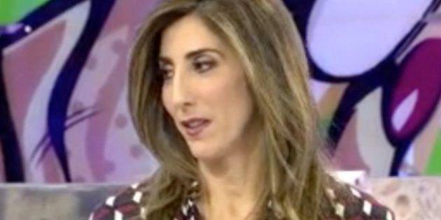 Paz Padilla pide perdón a sus compañeros por lo que todo el mundo ha visto en