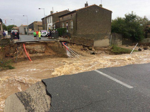 Las intensas lluvias en Francia han dejado cuantiosos daños