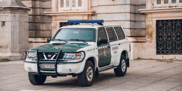 Un vehículo de la Guardia Civil, en una imagen de