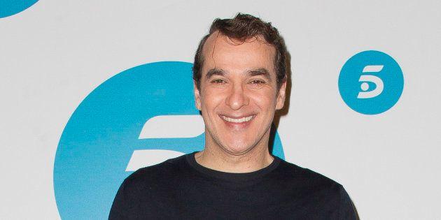 Luis Merlo en el 'photocall' de presentación de 'La que se avecina', el 1 de abril de