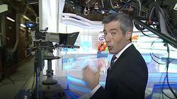 El Telediario de TVE deja una imagen pocas veces vista en pleno