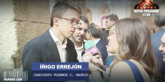 Miriam Saavedra la lía como nueva reportera de