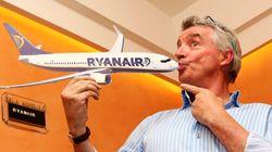 Ryanair lanza un descuento del 20% en un millón de