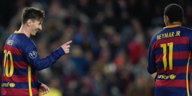 El emotivo vídeo de despedida de Messi a Neymar que triunfa en