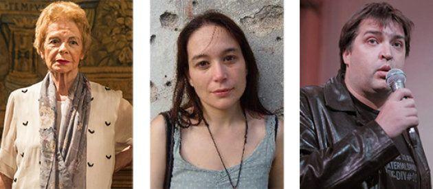 Hebe Uhart, Laura Alcoba y Leandro
