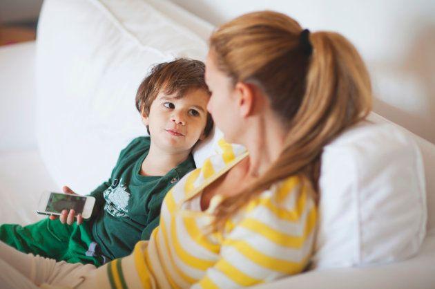 Cómo mantener con tus hijos la primera conversación sobre