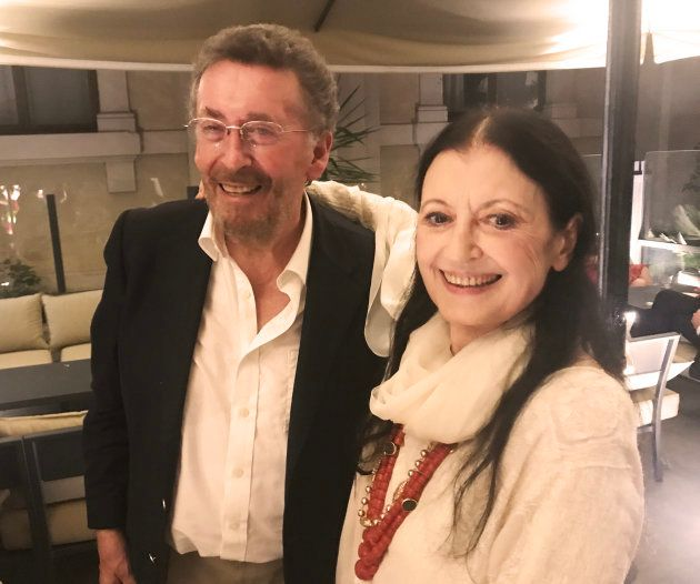 Robert Powell (Jesus de Nazareth de Franco Zeffirelli) con la bailarina Carla