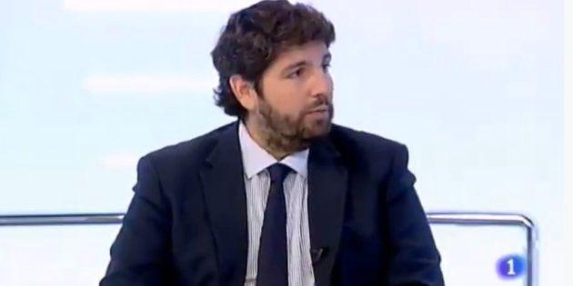 La tremenda metedura de pata del presidente de la región de Murcia (PP) en