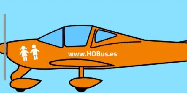 El avión de Hazte Oír no puede