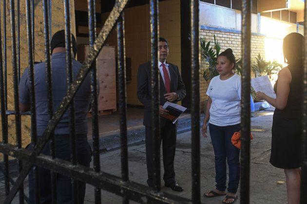 Teodora Vásquez, poco antes de ser liberada del Centro de readaptación para mujeres, en Ilopango, El...