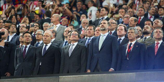 La Audiencia absuelve al promotor de la pitada al himno en la final de Copa de
