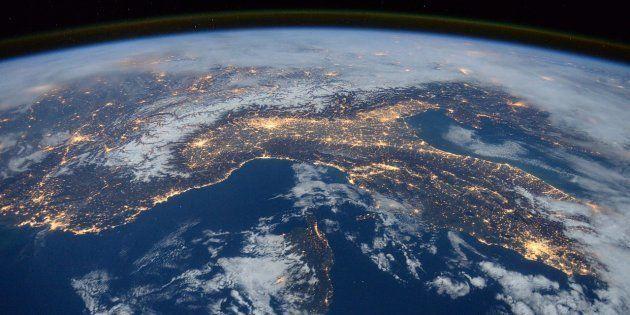 Vista de la Tierra desde el