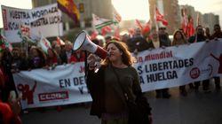Los sindicatos exigen un salario mínimo de 1.200 euros para todos los
