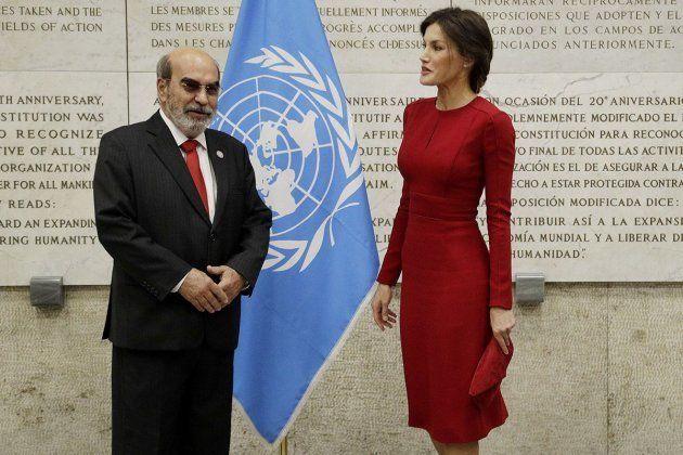 La esposa de Felipe VI ha hablado de alimentación en una ceremonia organizada por la ONU en