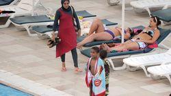 Piden a mujer que se bañó en burkini en una piscina de Francia que pague la
