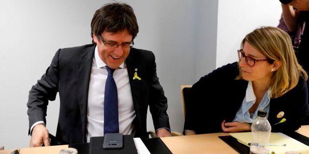 JxCat propone investir a Puigdemont antes del 14 de