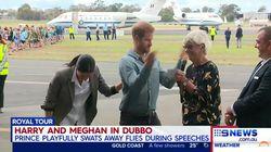 El extraño momento del príncipe Enrique que dejó a Meghan Markle partida de