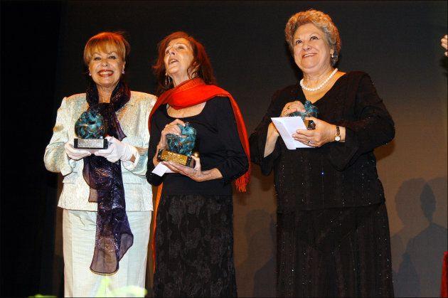Gemma Cuervo, Mariví Bolbao y Emma Penella en