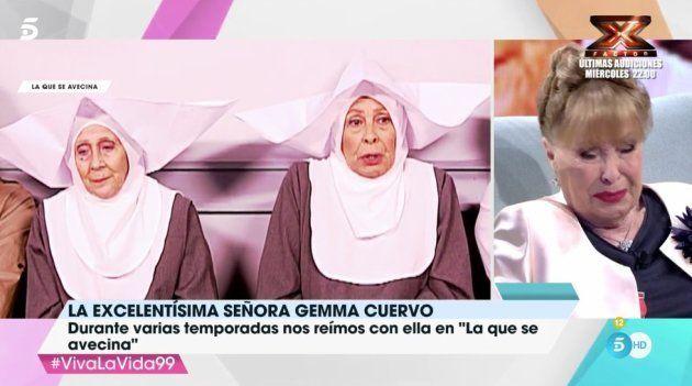 Gemma Cuervo recuerda a Mariví Bilbao y Emma Penella en 'Viva la