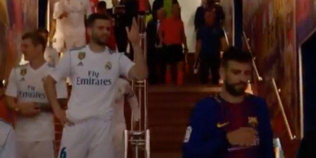 El reproche de Nacho a Piqué en los vestuarios: