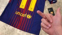 Protesta porque se acababa de comprar la camiseta de Neymar por 150 euros y Twitter