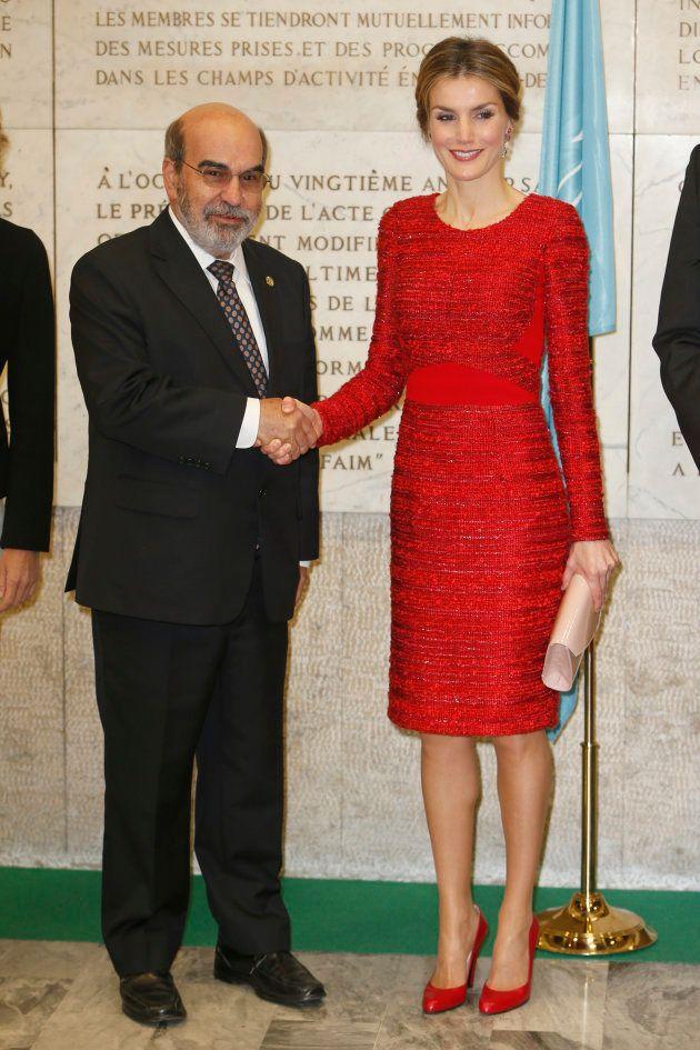 La reina Letizia, en la FAO el 20 de noviembre de