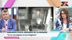 La implacable pregunta de Toñi Moreno al abogado de 'La Manada' que lo dejó con esta