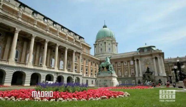 Imagen del Palacio de Buda en Budapest (Hungría) dentro de la serie