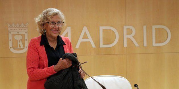 La alcaldesa de Madrid, Manuela