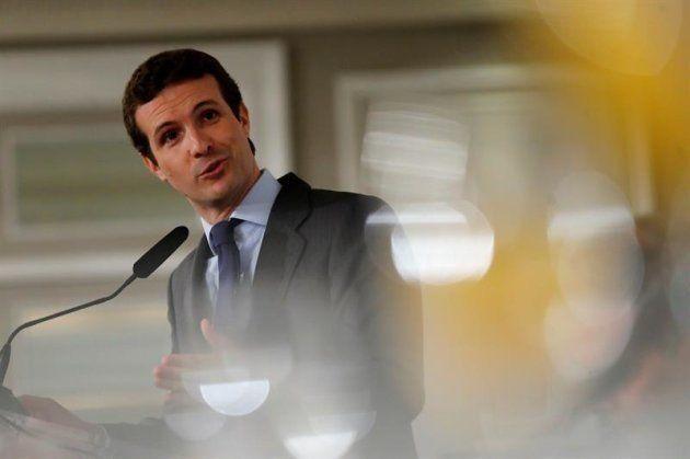 El presidente del Partido Popular, Pablo